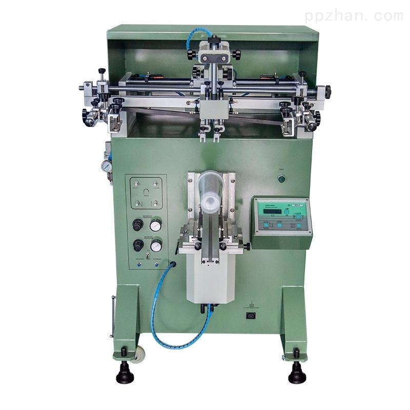 圆管丝印机不锈钢管滚印机长管丝网印刷机
