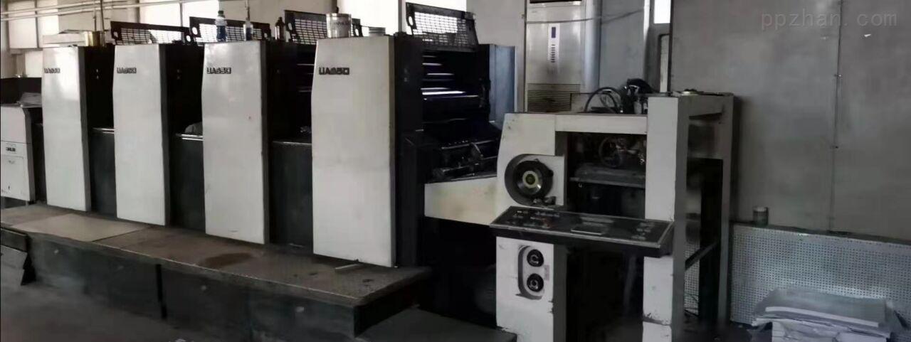 低价转让光华650四色印刷机