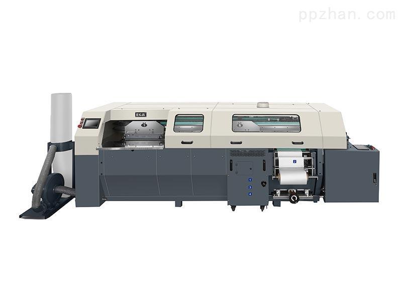 TBT50/5F PUR 椭圆胶订包本机(数控全自动调节)