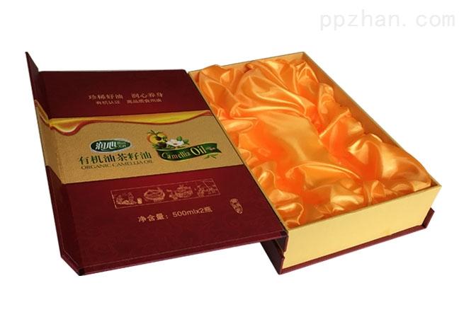 有机茶油包装盒-书形礼盒