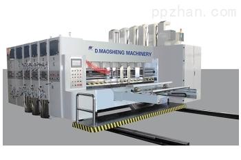 高速印刷开槽摸切机