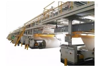 五层瓦楞纸板生产线