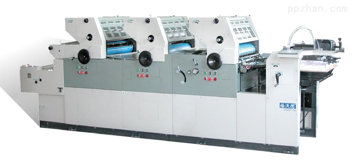 FJ62DT-NP飞达供纸的双面、多色打码胶印机