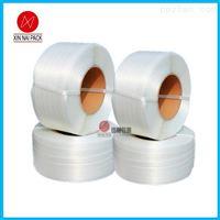 耐高温白色柔性聚酯纤维打包带